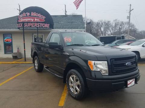 2014 Ford F-150 for sale at DICK'S MOTOR CO INC in Grand Island NE