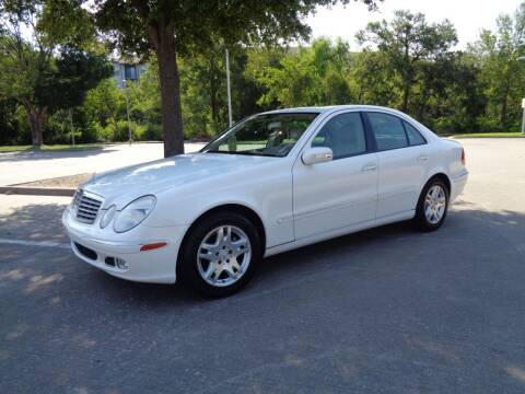 2003 Mercedes-Benz E-Class for sale at ACH AutoHaus in Dallas TX
