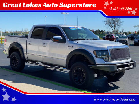 2012 Ford F-150 for sale at Great Lakes Auto Superstore in Pontiac MI
