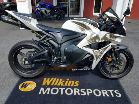 2009 Honda CBR600RR for sale at WILKINS MOTORSPORTS in Brewster NY