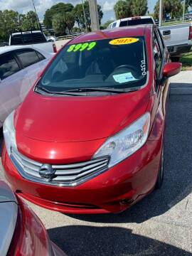 2015 Nissan Versa for sale at DAN'S DEALS ON WHEELS in Davie FL