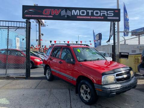 2004 Chevrolet Tracker for sale at GW MOTORS in Newark NJ