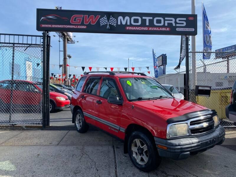 2004 Chevrolet Tracker for sale at GW MOTORS in Newark NJ