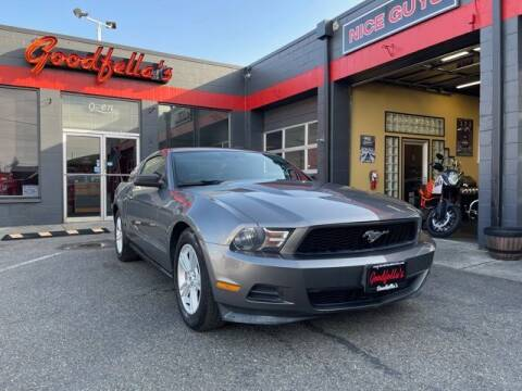 2011 Ford Mustang for sale at Goodfella's  Motor Company in Tacoma WA