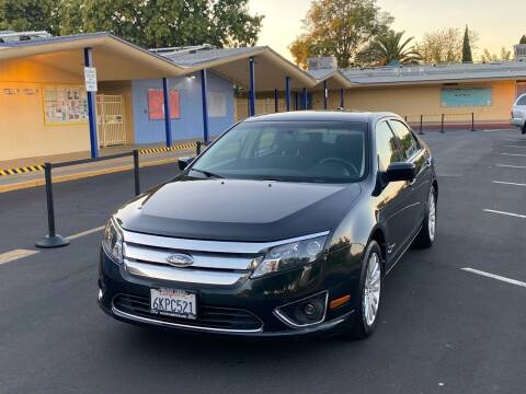 2010 Ford Fusion Hybrid for sale at AYHAM MOTORS in Fremont CA