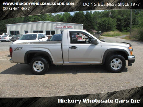 2007 Chevrolet Colorado for sale at Hickory Wholesale Cars Inc in Newton NC