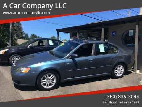 2005 Subaru Legacy for sale at A Car Company LLC in Washougal WA