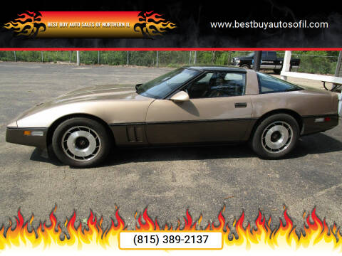 1985 Chevrolet Corvette for sale at Best Buy Auto Sales of Northern IL in South Beloit IL