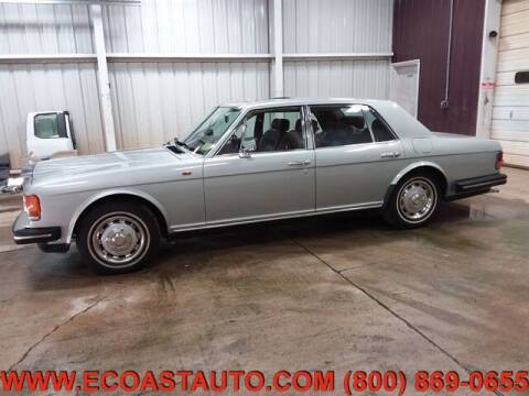 1982 ROLLS-ROYC SILVER SPI for sale at East Coast Auto Source Inc. in Bedford VA