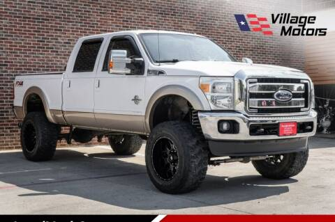 2012 Ford F-250 Super Duty for sale at Village Motors in Lewisville TX