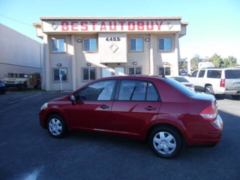 2009 Nissan Versa for sale at Best Auto Buy in Las Vegas NV