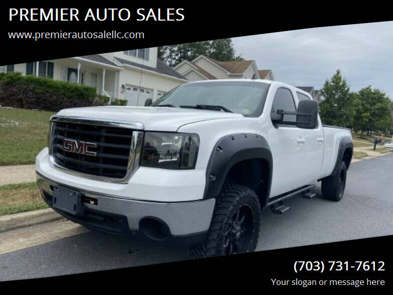 2008 GMC Sierra 2500HD for sale at PREMIER AUTO SALES in Martinsburg WV