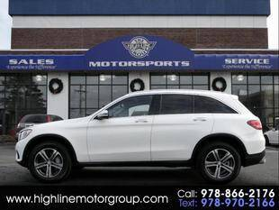 2016 Mercedes-Benz GLC for sale at Highline Group Motorsports in Lowell MA
