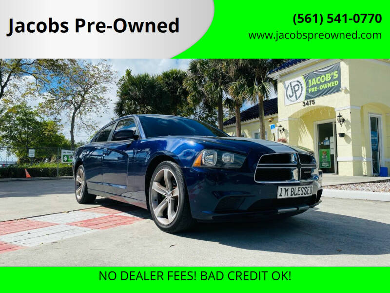 2014 Dodge Charger for sale at Jacobs Pre-Owned in Lake Worth FL