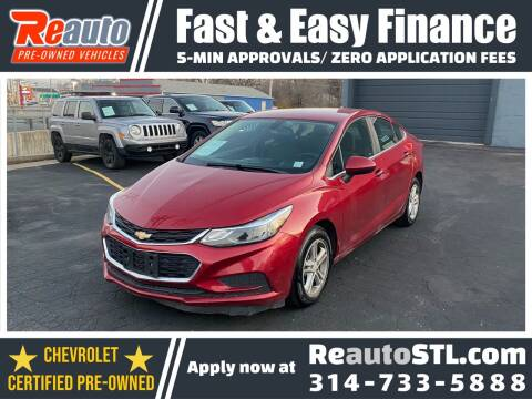 2017 Chevrolet Cruze for sale at Reauto in Saint Louis MO