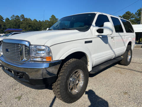 2001 Ford Excursion for sale at Baileys Truck and Auto Sales in Florence SC