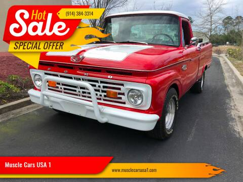 1964 Ford F-100 for sale at Muscle Cars USA 1 in Murrells Inlet SC