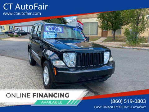 2010 Jeep Liberty for sale at CT AutoFair in West Hartford CT