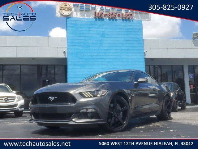 2017 Ford Mustang for sale at Tech Auto Sales in Hialeah FL