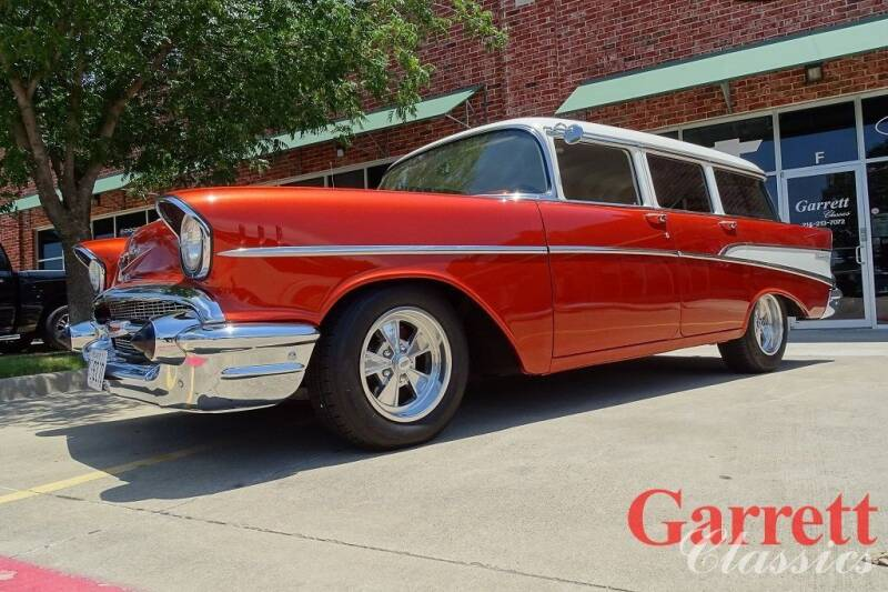 1957 Chevrolet 210 for sale at Garrett Classics in Lewisville TX
