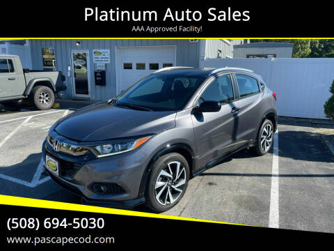 2019 Honda HR-V for sale at Platinum Auto Sales in South Yarmouth MA