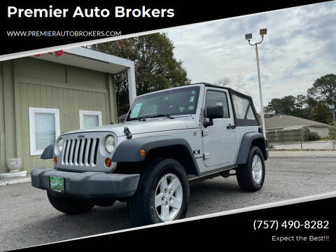 2008 Jeep Wrangler for sale at Premier Auto Brokers in Virginia Beach VA