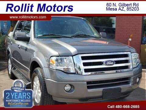 2012 Ford Expedition for sale at Rollit Motors in Mesa AZ
