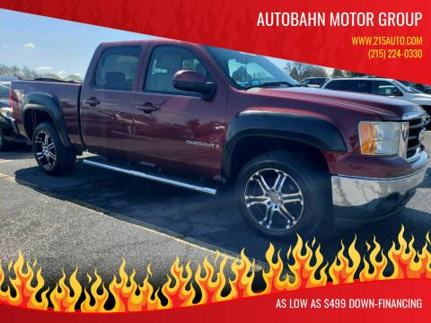 2008 GMC Sierra 1500 for sale at Autobahn Motor Group in Willow Grove PA
