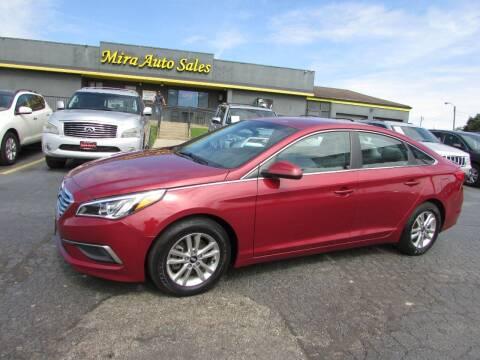 2016 Hyundai Sonata for sale at MIRA AUTO SALES in Cincinnati OH