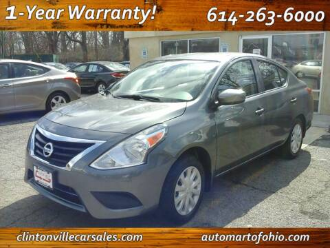 2016 Nissan Versa for sale at Clintonville Car Sales - AutoMart of Ohio in Columbus OH