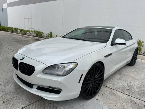 2013 BMW 6 Series for sale at Auto Beast in Fort Lauderdale FL