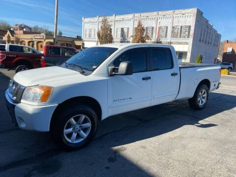 2014 Nissan Titan for sale at East Main Rides in Marion VA