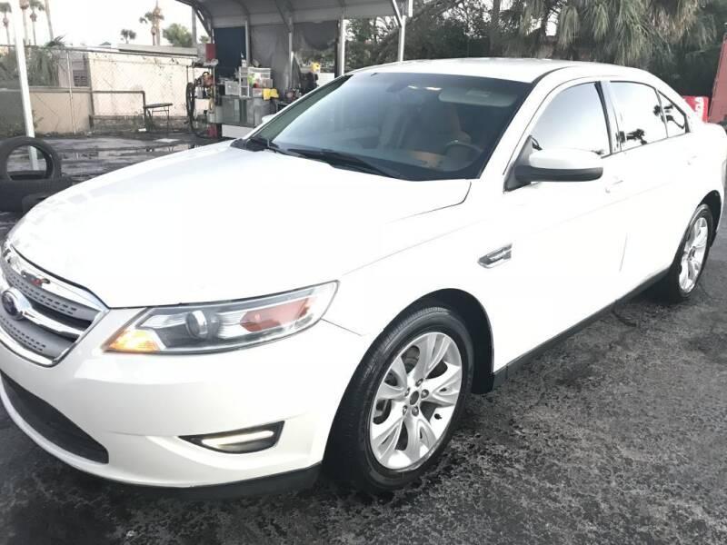 2011 Ford Taurus for sale at WHEEL UNIK AUTOMOTIVE & ACCESSORIES INC in Orlando FL