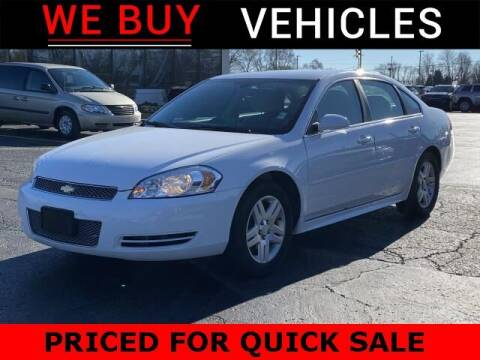 2012 Chevrolet Impala for sale at Vicksburg Chrysler Dodge Jeep Ram in Vicksburg MI