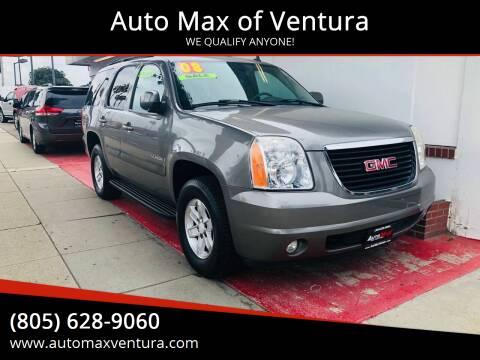 2008 GMC Yukon for sale at Auto Max of Ventura in Ventura CA