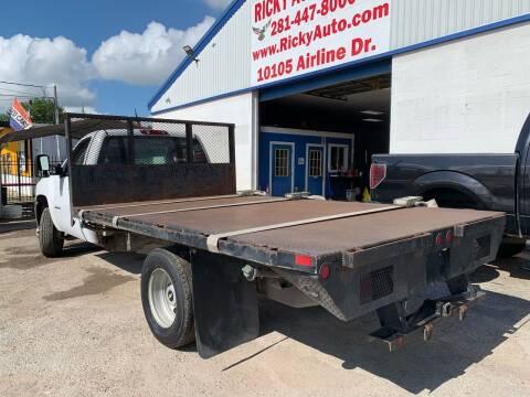 2011 Chevrolet Silverado 3500HD CC for sale at Ricky Auto Sales in Houston TX
