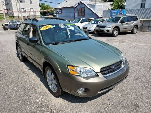 2007 Subaru Outback for sale at Fortier's Auto Sales & Svc in Fall River MA