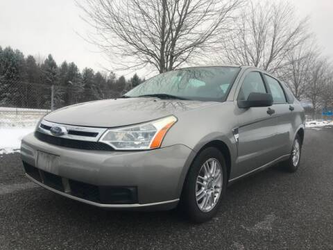 2008 Ford Focus for sale at GOOD USED CARS INC in Ravenna OH