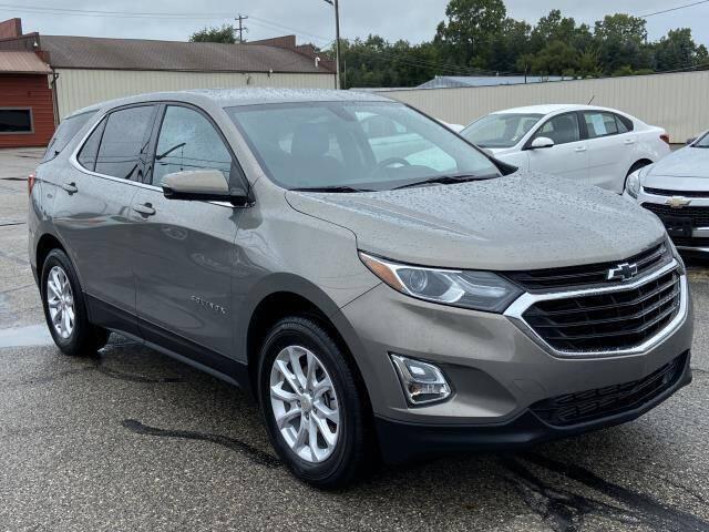 2018 Chevrolet Equinox for sale at Miller Auto Sales in Saint Louis MI