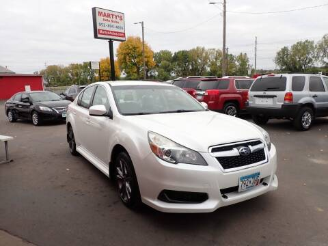 2013 Subaru Legacy for sale at Marty's Auto Sales in Savage MN