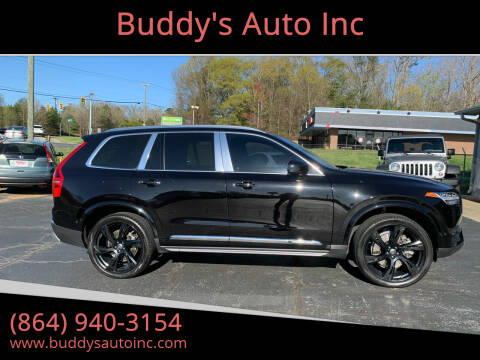 2017 Volvo XC90 for sale at Buddy's Auto Inc in Pendleton, SC