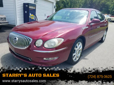2008 Buick LaCrosse for sale at STARRY'S AUTO SALES in New Alexandria PA