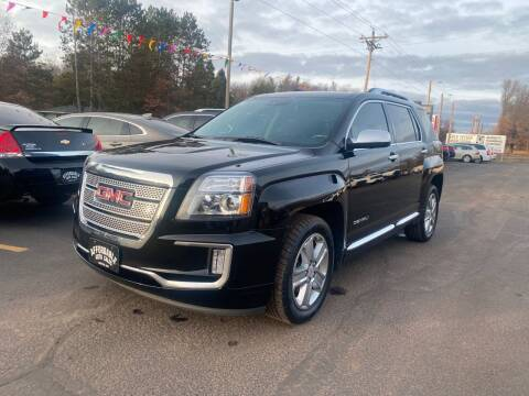 2017 GMC Terrain for sale at Affordable Auto Sales in Webster WI