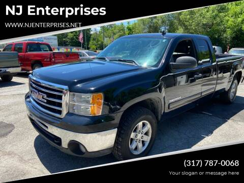 2012 GMC Sierra 1500 for sale at NJ Enterprises in Indianapolis IN
