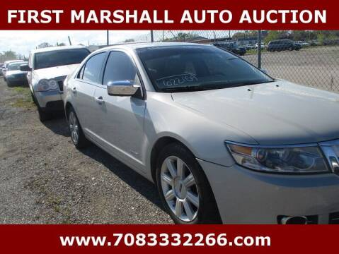 2008 Lincoln MKZ for sale at First Marshall Auto Auction in Harvey IL