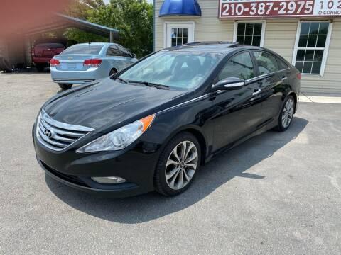 2014 Hyundai Sonata for sale at Silver Auto Partners in San Antonio TX