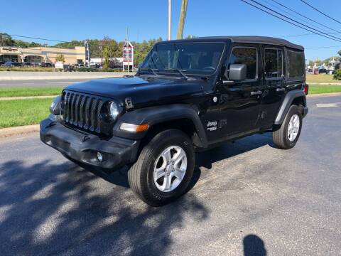 2018 Jeep Wrangler Unlimited for sale at iCar Auto Sales in Howell NJ