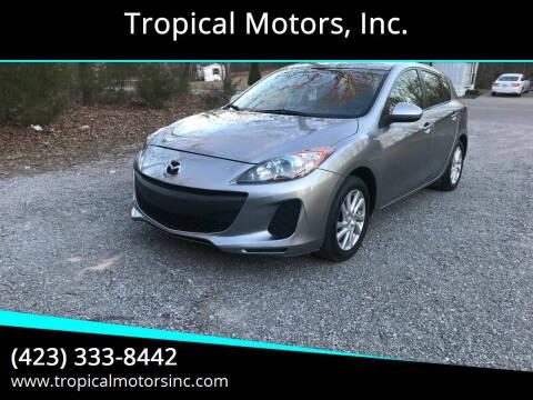 2012 Mazda MAZDA3 for sale at Tropical Motors, Inc. in Riceville TN