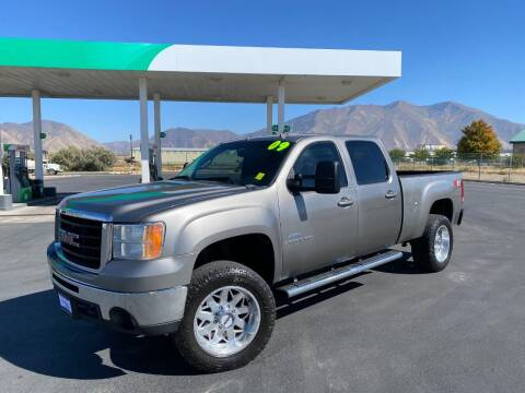 2009 GMC Sierra 2500HD for sale at Evolution Auto Sales LLC in Springville UT