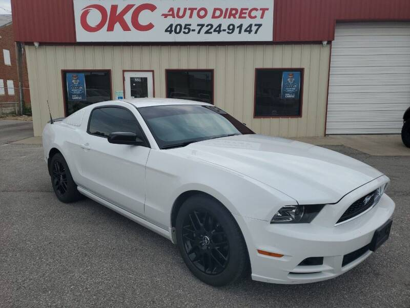 2014 Ford Mustang for sale at OKC Auto Direct in Oklahoma City OK